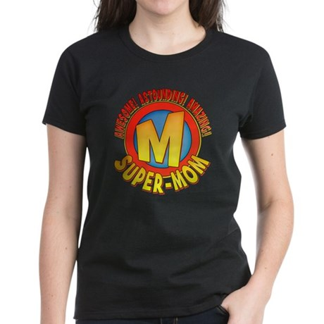 Super-Mom Women's Dark T-Shirt