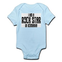 Rock Star In Romania Infant Creeper