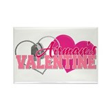 Airman's Valentine Rectangle Magnet