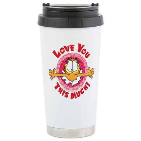 Love You This Much! Ceramic Travel Mug