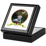 lab puppy Keepsake Box