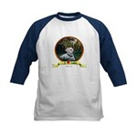 lab puppy Kids Baseball Jersey