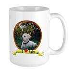lab puppy Large Mug