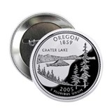 "Oregon State Quarter - 2.25"" Button"