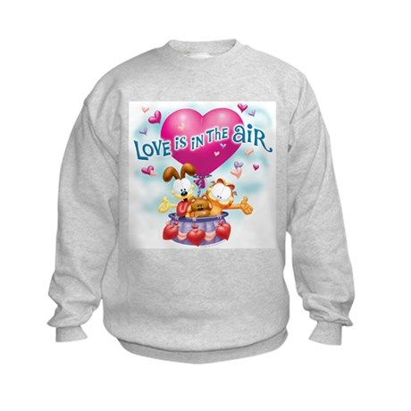 Love is in the Air Kids Sweatshirt