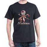 Mackinac Island Pirate Design T-Shirt