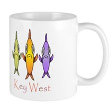 Key West 3 Fishes Mug