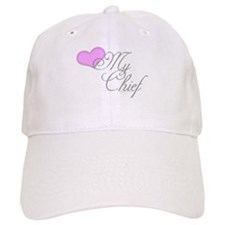 Heart my Chief (Navy Ladies) Baseball Cap