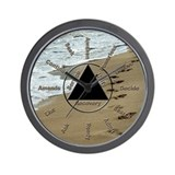 Twelve Steps Wall Clock