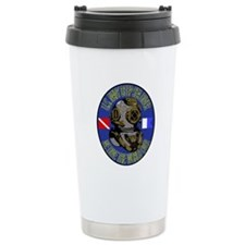 NAVY DIVER Ceramic Travel Mug
