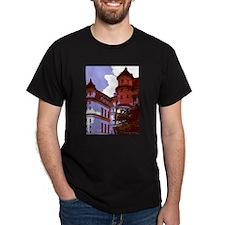 Sunlit Courtyard T-Shirt