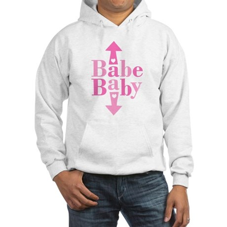 Babe Baby Hooded Sweatshirt