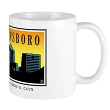 Linking Greensboro Mug