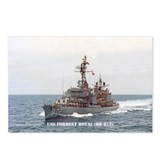 USS FORREST ROYAL Postcards (Package of 8)
