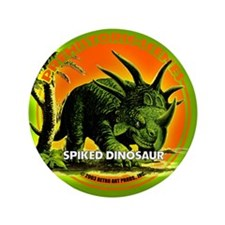 "PS SPiked Dino 3.5"" Button"