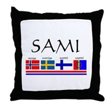 Sami souvenir Throw Pillow