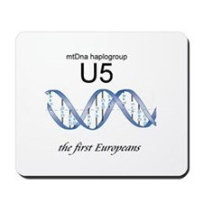 U5 First Europeans Mousepad