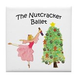 Nutcracker & Clara Tile Coaster
