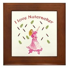 Clara,nutcracker ballet Framed Tile