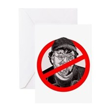 No More Michael Moore Greeting Card