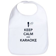 Keep Calm & Karaoke Bib