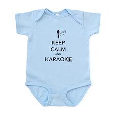 Keep Calm & Karaoke Infant Bodysuit