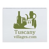 Picturesque Tuscany Wall Calendar - Medium