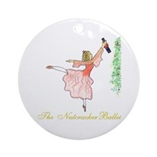 The nutcracker ballet Ornament (Round)