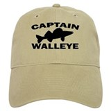 CAPTAIN WALLEYE Baseball Cap