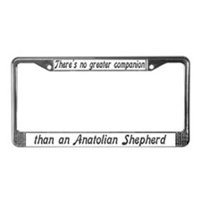 """Anatolian Shepherd"" License Plate Frame"