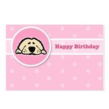 Puppy Birthday Postcards (Package of 8)