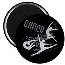"Dance (black) 2.25"" Magnet (10 pack)"