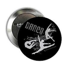 "Dance (black) 2.25"" Button (10 pack)"