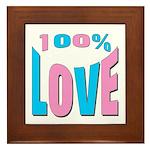 Maternity Love Framed Tile