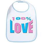 Maternity Love Bib