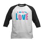 Maternity Love Kids Baseball Jersey