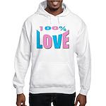 Maternity Love Hooded Sweatshirt