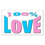 Maternity Love Rectangle Sticker