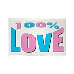 Maternity Love Rectangle Magnet (100 pack)