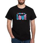 Maternity Love Black T-Shirt