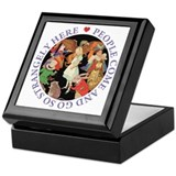 PEOPLE COME & GO Keepsake Box