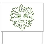 GreenMan Yard Sign