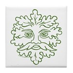 GreenMan Tile Coaster