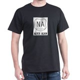 NA t-shirts & more Black T-Shirt