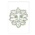 GreenMan Postcards (Package of 8)