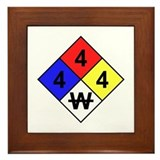 NFPA Diamond Framed Tile
