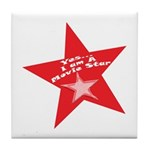Movie Star Tile Coaster