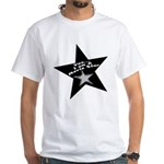 Movie Star White T-Shirt