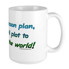 Evil lesson plan, teacher gift Mug
