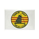 Tonkin Gulf Yacht Club Rectangle Magnet